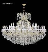 91760GL2X IMPERIAL Crystal Chandelier