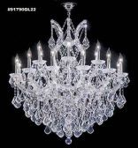 91790S2X IMPERIAL Crystal Chandelier
