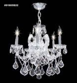 91805GL0T Swarovski ELEMENTS Crystal Golden Teak Chandelier