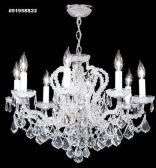 91958S22 IMPERIAL Crystal Chandelier