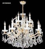 91960G22 IMPERIAL Crystal Chandelier