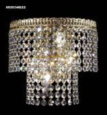 92034S22 IMPERIAL Crystal Wall Sconce