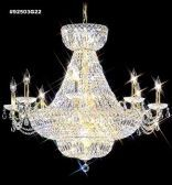 92503S22 IMPERIAL Crystal Chandelier