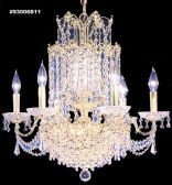 93006S11 SPECTRA Crystal Chandelier
