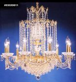 93020S22 IMPERIAL Crystal Chandelier