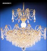 93025S22 IMPERIAL Crystal Chandelier