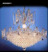 93026S11 SPECTRA Crystal Chandelier