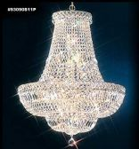 93090S11P SPECTRA Crystal combined with other High Quality Crystals Chandelier