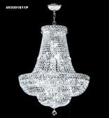 93091S11P SPECTRA Crystal combined with other High Quality Crystals Chandelier
