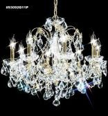93092S11P SPECTRA Crystal combined with other High Quality Crystals Chandelier