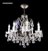 93092S22 IMPERIAL Crystal Chandelier