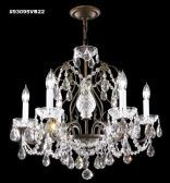 93095S44 REGAL Handcut/Polished Chandelier