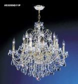 93099G11P SPECTRA Crystal combined with other High Quality Crystals Chandelier