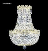 93104G22 IMPERIAL Crystal Wall Sconce