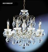 93108G22P IMPERIAL Crystal Chandelier