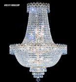 93118G22P IMPERIAL Crystal Chandelier