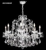 93122S22P IMPERIAL Crystal Chandelier