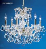 93144GL11P SPECTRA Crystal combined with other High Quality Crystals Chandelier