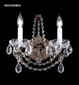 93152VB44 REGAL Handcut/Polished Wall Sconce