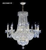 93154G11P SPECTRA Crystal combined with other High Quality Crystals Chandelier