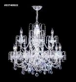 93740G1BA Swarovski SPECTRA with Crystal Bordeaux Swarovski ELEMENTS  ACCENTS Chandelier