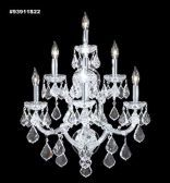 93911S22 IMPERIAL Crystal Wall Sconce