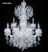 93913S22 IMPERIAL Crystal Chandelier