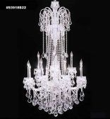 93918S22 IMPERIAL Crystal Chandelier