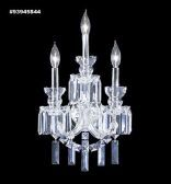 93945S44 REGAL Handcut/Polished Wall Sconce