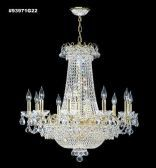 93971G44 REGAL Handcut/Polished Chandelier