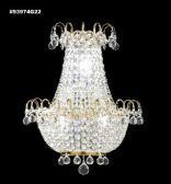 93974S44 REGAL Handcut/Polished Wall Sconce