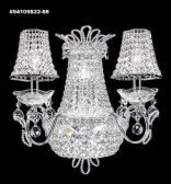94109G22 IMPERIAL Crystal Wall Sconce