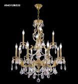 94312BZ0T Swarovski ELEMENTS Crystal Golden Teak Chandelier