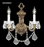 94322BZ22 IMPERIAL Crystal Wall Sconce