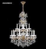 94329GB44 REGAL Handcut/Polished Chandelier