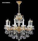 94339BZ0T Swarovski ELEMENTS Crystal Golden Teak Chandelier
