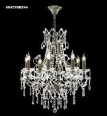 94378BZ1MEA SPECTRA Crystal with Amethyst and Amber Chandelier