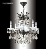 94516BZ2GT IMPERIAL Golden Teak Chandelier