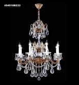 94518AB2GT IMPERIAL Golden Teak Chandelier