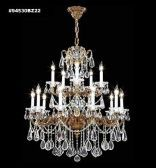 94530BZ2GT IMPERIAL Golden Teak Chandelier