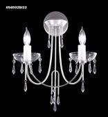 94592SI22 IMPERIAL Crystal Wall Sconce