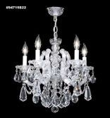 94715S2GT IMPERIAL Golden Teak Chandelier