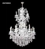 94746GL44 REGAL Handcut/Polished Chandelier