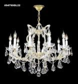 94790GL22 IMPERIAL Crystal Chandelier