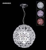 94960S0V Swarovski ELEMENTS Crystal Blue Violet Chandelier