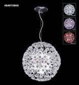 94970S0B Swarovski ELEMENTS Crystal Bordeaux Chandelier
