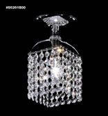 95261S0S Broadway Collection STRASS® Swarovski® Crystal Medium Sapphire Flushmount Pendant