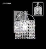 95333S0B Swarovski ELEMENTS Crystal Bordeaux Wall Sconce