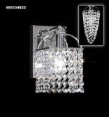 95334S0B Swarovski ELEMENTS Crystal Bordeaux Wall Sconce