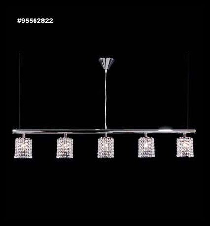 95562S2J Broadway Collection IMPERIAL™ Jet (Black)  Island Chandelier